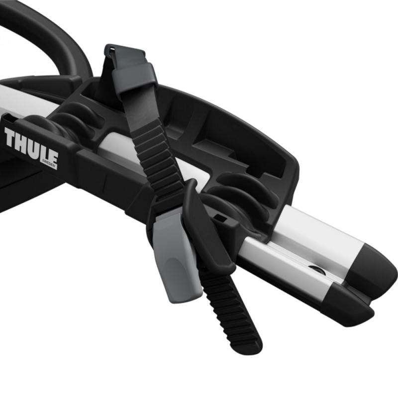Thule ProRide 598 Uchwyt rowerowy na dach za ramę srebrny