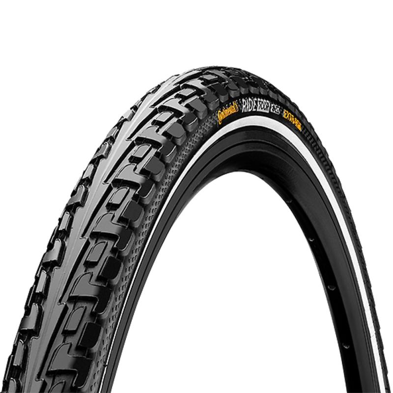 Continental Ride Tour 24 ExtraPuncture Belt Opona rowerowa drutowa czarna Reflex