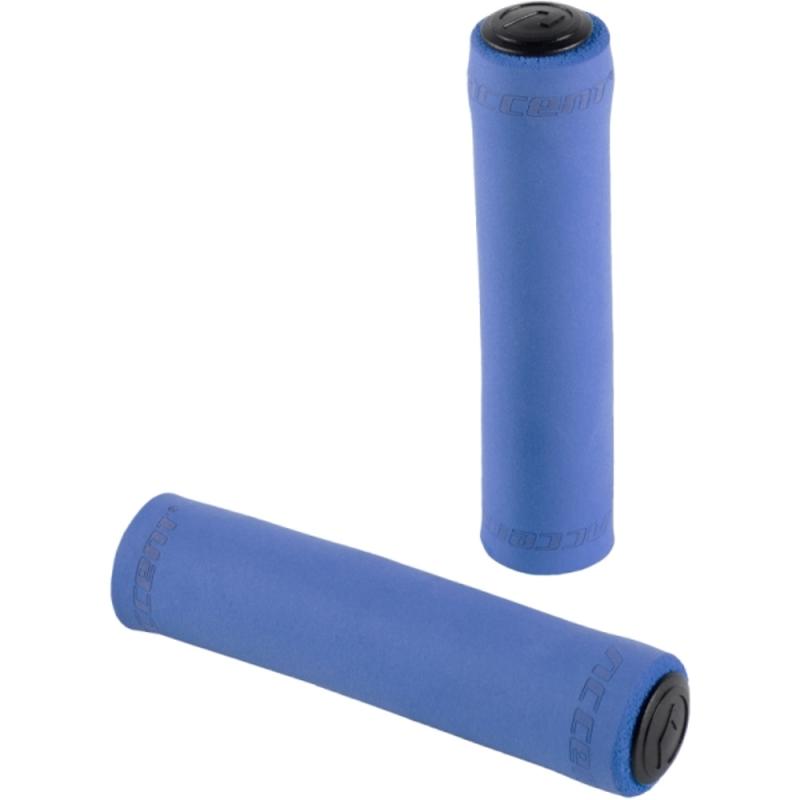 Accent Silicon Chwyty rowerowe kierownicy 130mm niebieskie