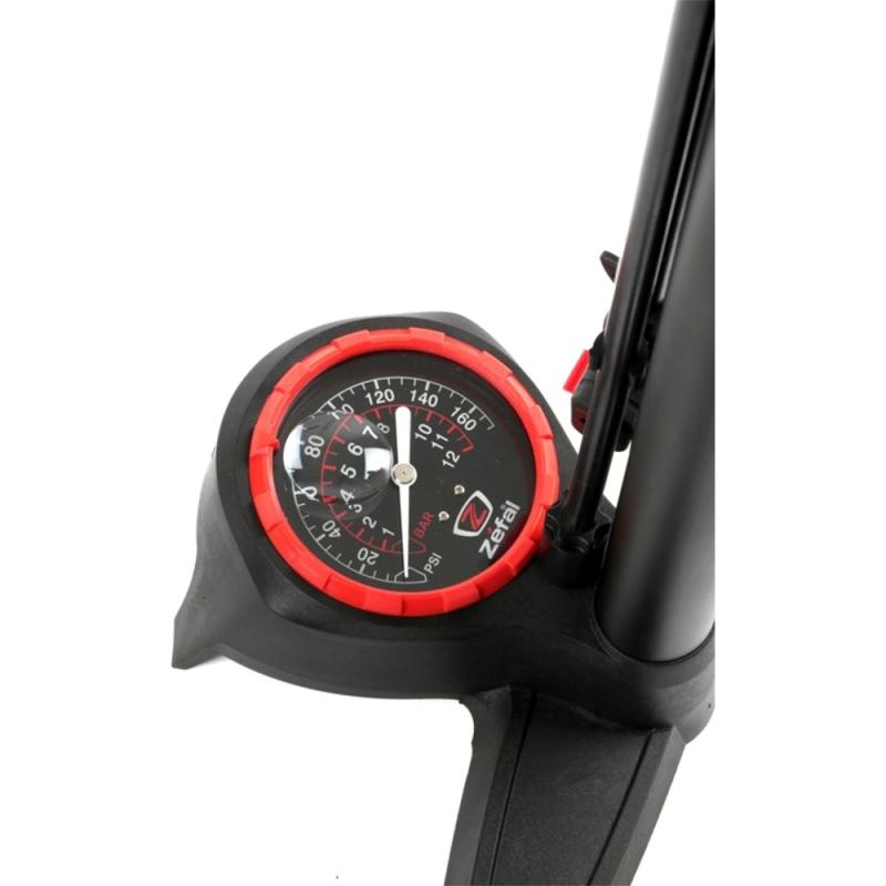 Zefal Profil Max FP60 Pompka rowerowa podłogowa z manometrem czarna