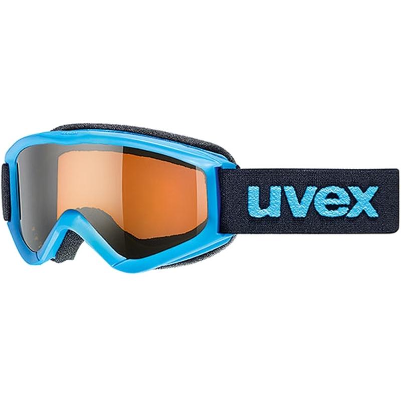 Uvex Speedy Pro Gogle narciarskie junior dziecięce blue lasergold