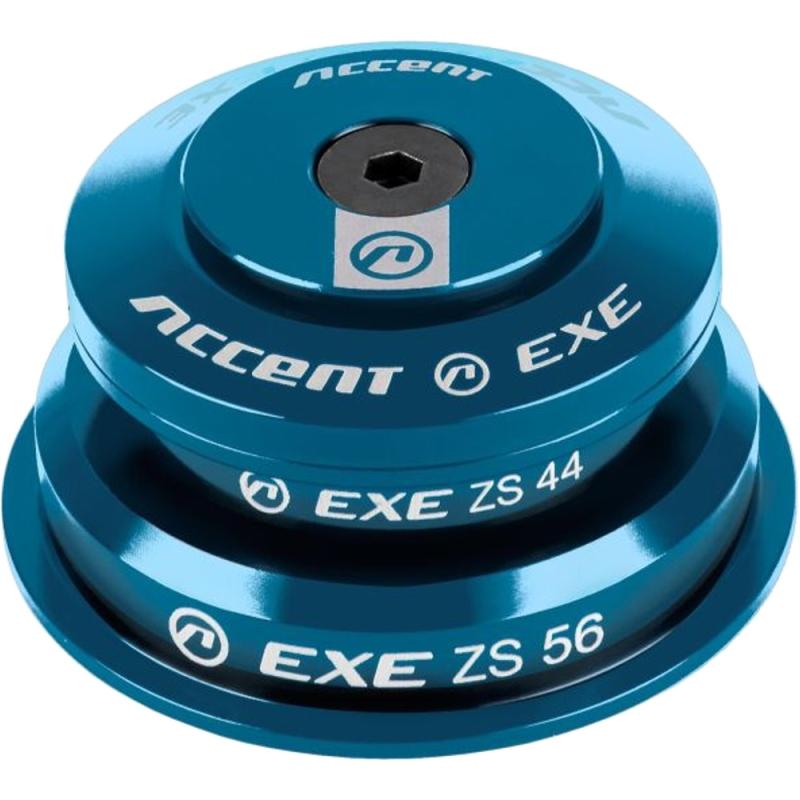 Accent HSI Exe Stery półzintegrowane 1 1/8/1,5 taper niebieskie