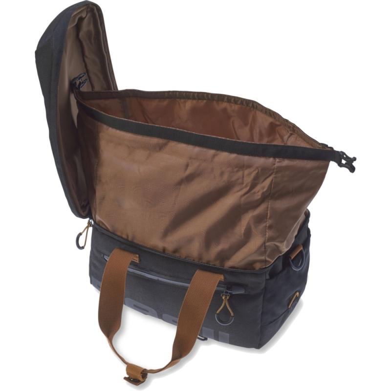 Basil Miles Trunkbag Torba na bagażnik black slate 7L