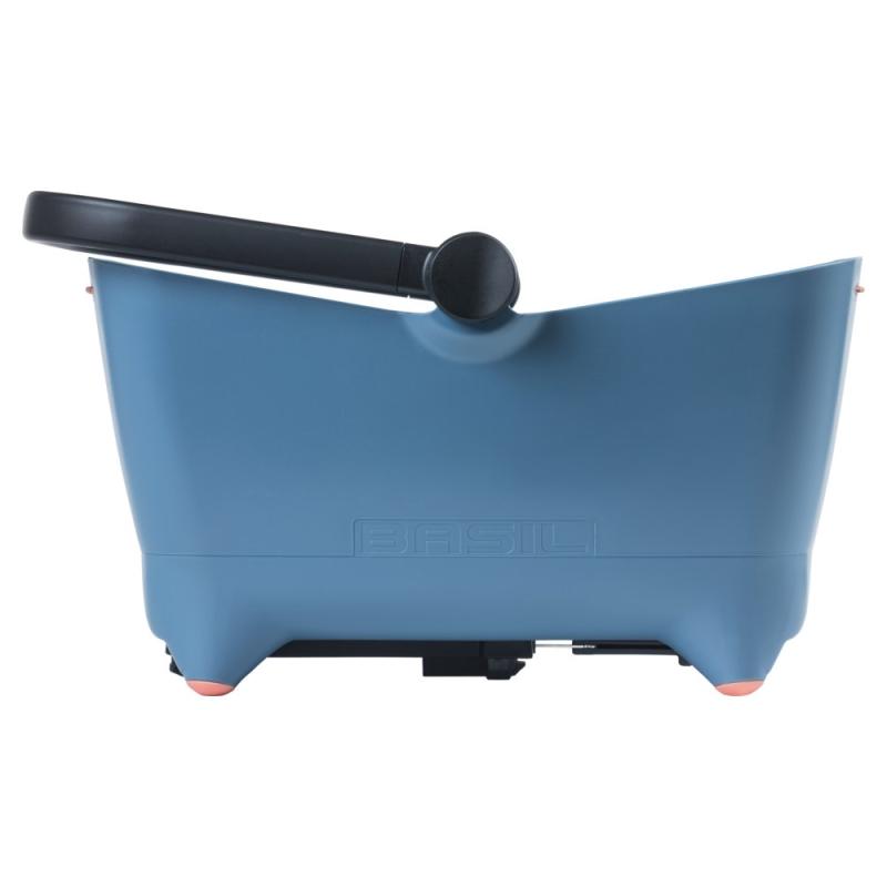 Basil Buddy Koszyk dla zwierząt na tylny bagażnik niebieski