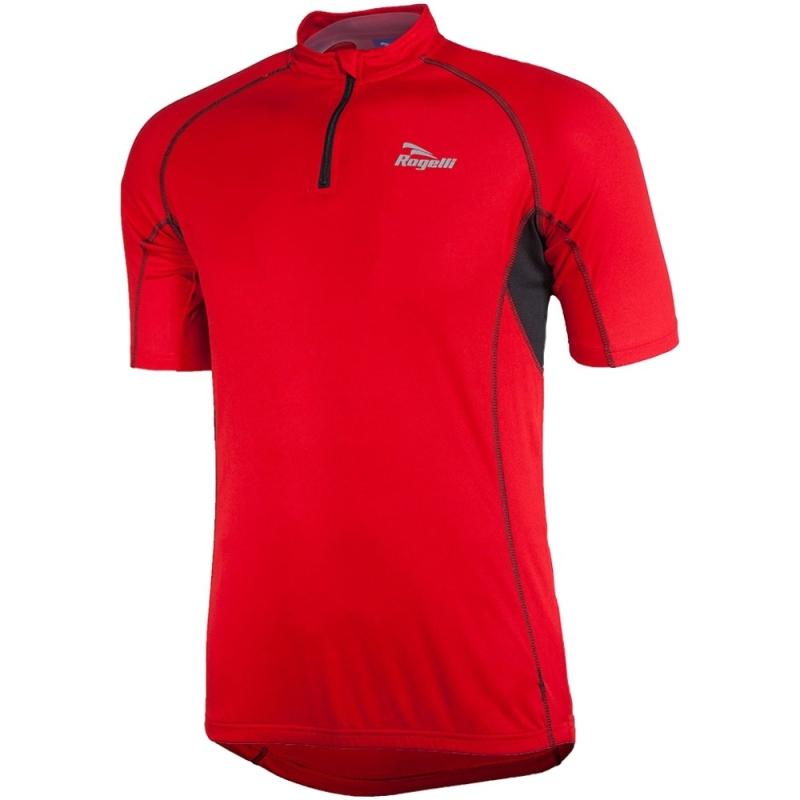 Rogelli Perugia Koszulka rowerowa dziecięca czerwono czarna