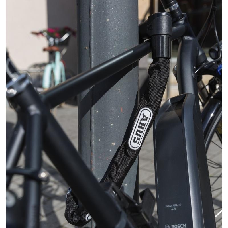Abus 1500 Web Zapięcie do roweru łańcuch z zamkiem czarny