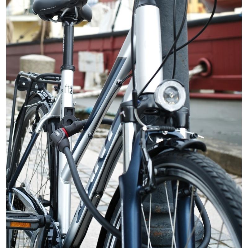 Abus Phantom 8940 85cm Zapięcie rowerowe linka z zamkiem + TexFL