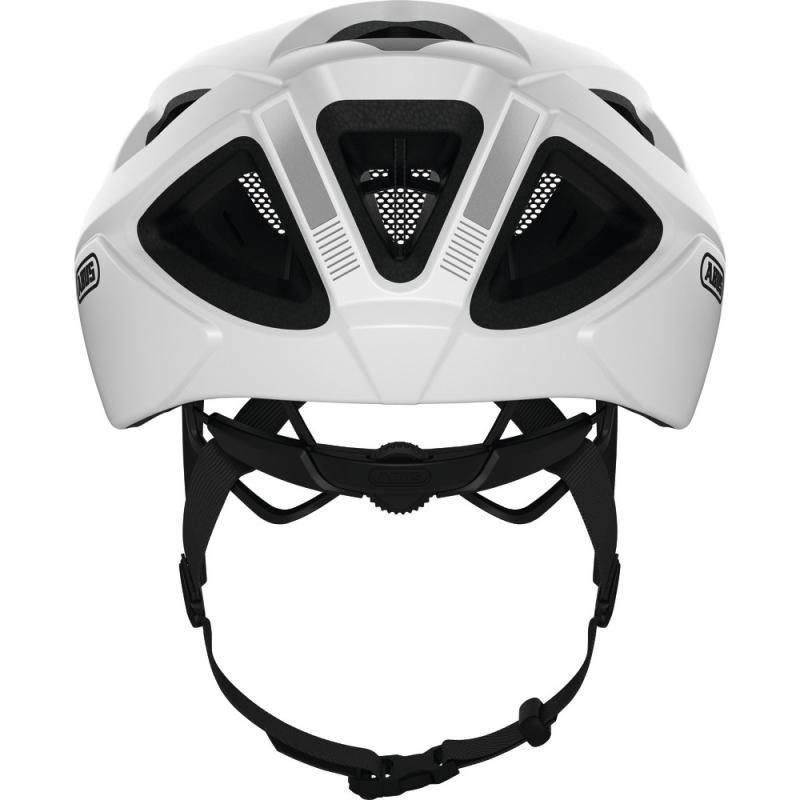 Abus Aduro 2.1 Kask rowerowy MTB polar white