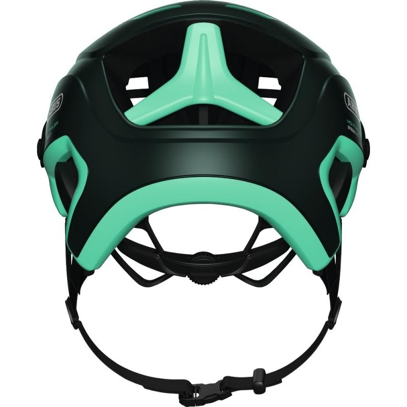 Abus MonTrailer Kask rowerowy MTB smaragd green