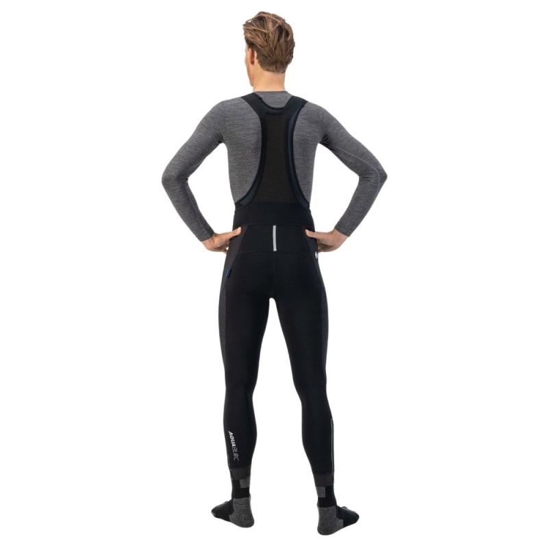 Rogelli Artico Spodnie rajtuzy rowerowe z szelkami 2019