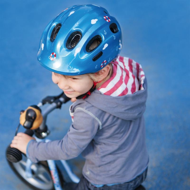 Abus Smiley 2.0 Kask rowerowy dziecięcy black space