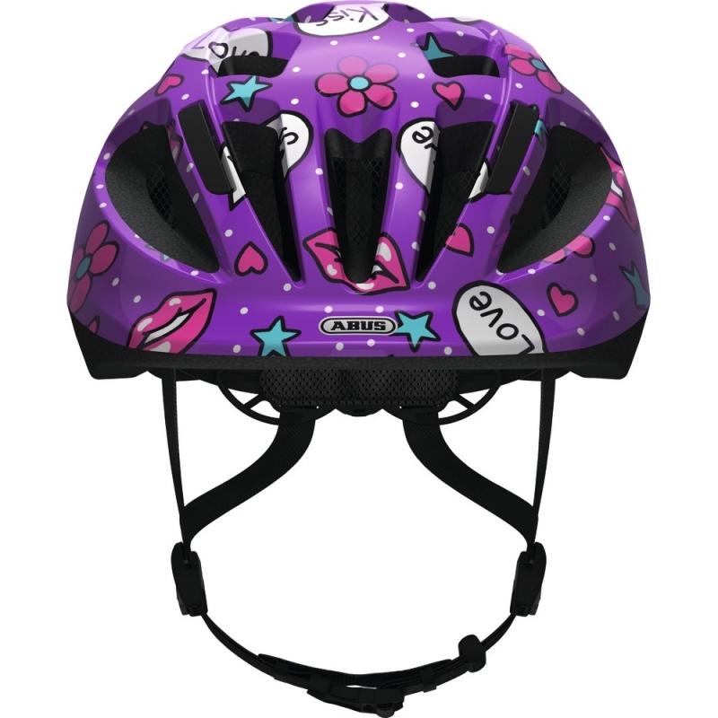 Abus Smooty 2.0 Kask rowerowy dziecięcy purple kisses