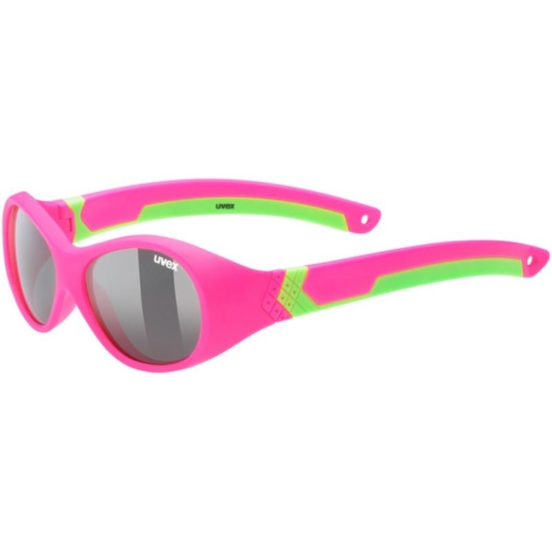 Uvex Sportstyle 510 Okulary przeciwsłoneczne dla dzieci pink green mat smoke