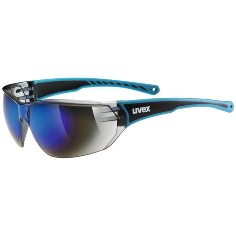 Uvex Sportstyle 204 Okulary sportowe blue mirror blue
