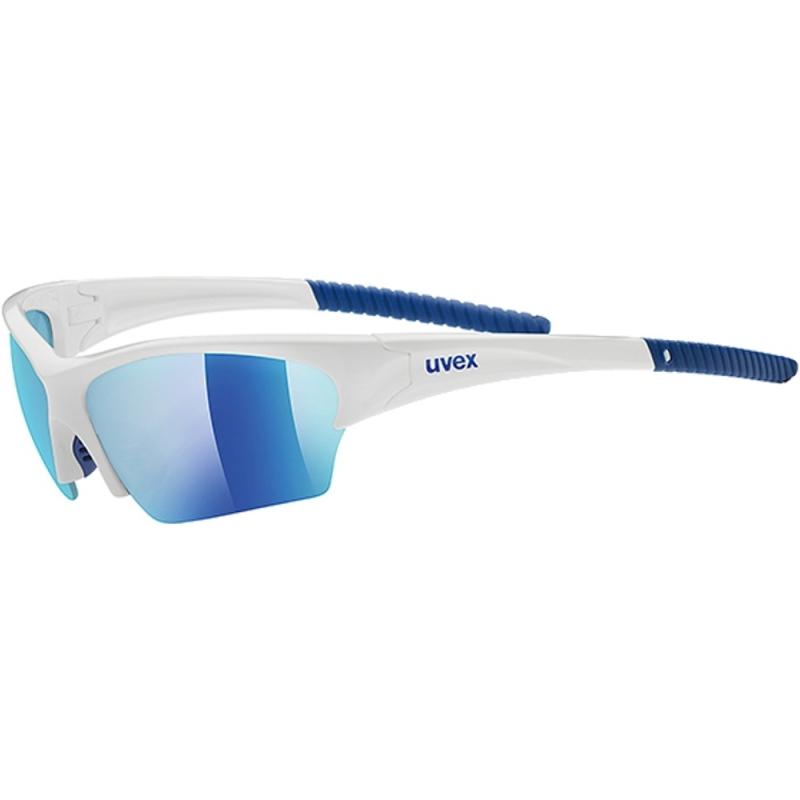 Uvex Sunsation Okulary sportowe white blue mirror blue