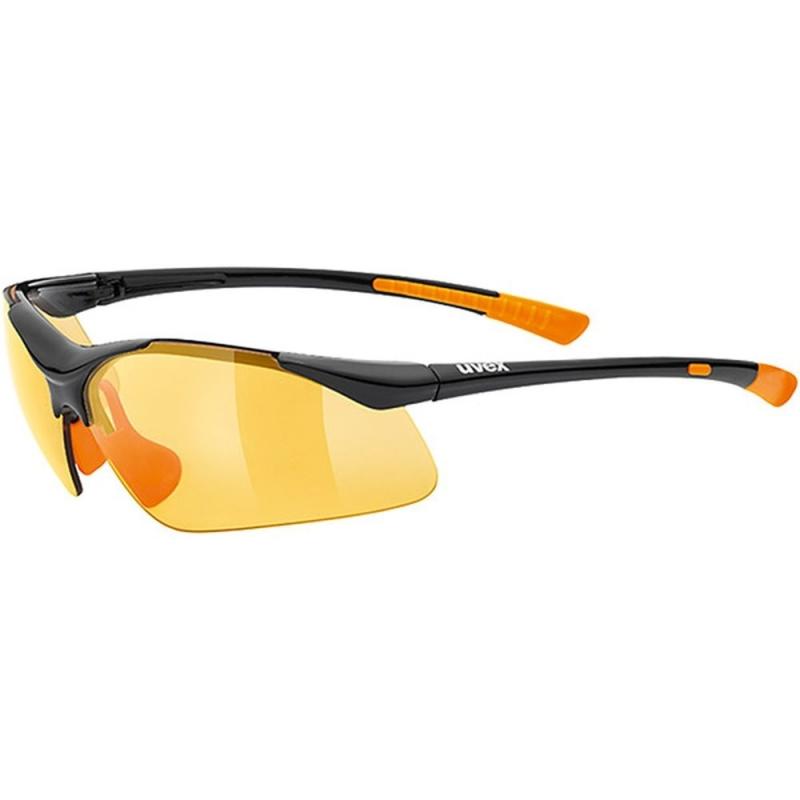 Uvex Sportstyle 223 Okulary sportowe black orange litemirror orange