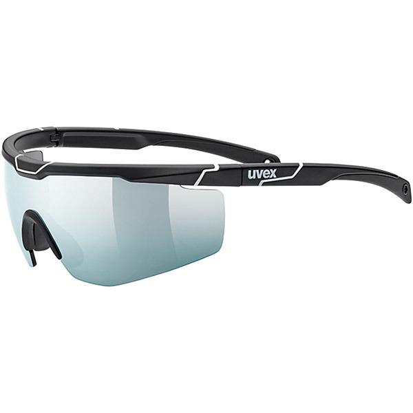 Uvex Sportstyle 117 Okulary sportowe z wymiennymi szkłami black mat white