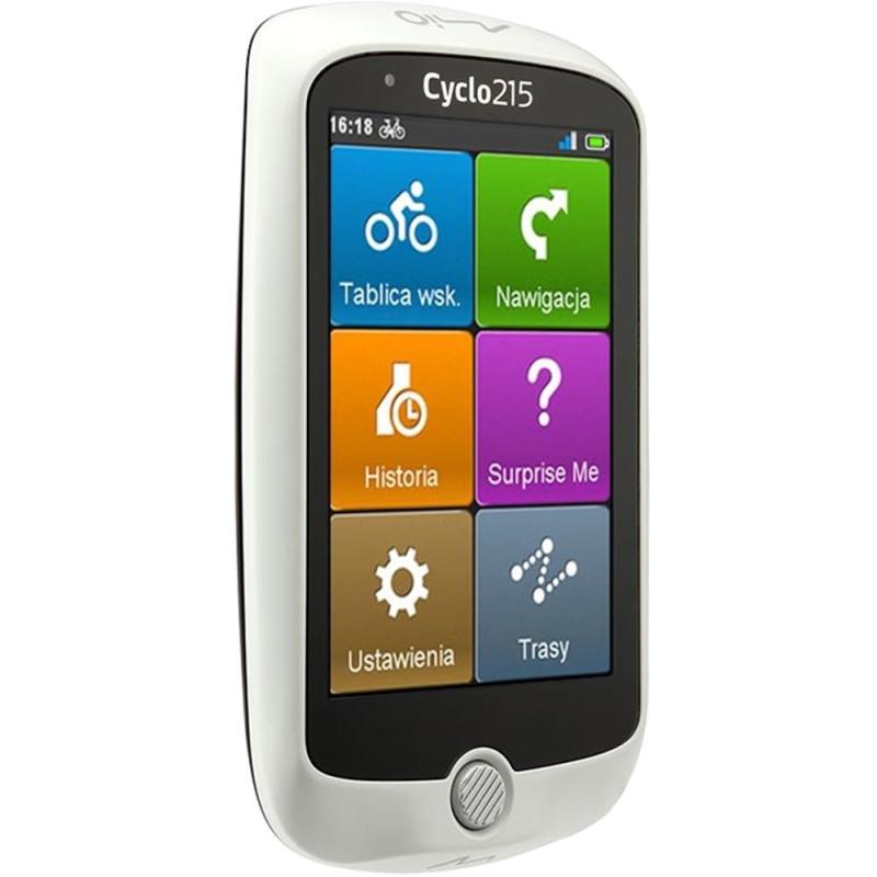 Mio Cyclo 215 HC Central Europe Nawigacja rowerowa GPS + HRM
