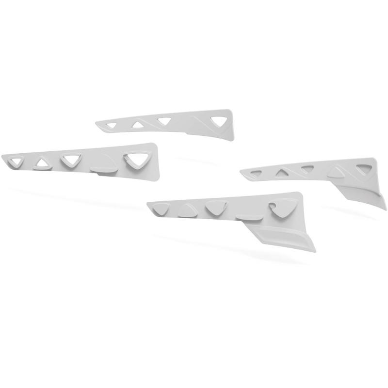 Rudy Project Peripheral Shields Set Zestaw gumowych wstawek bocznych white