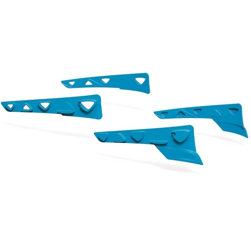 Rudy Project Peripheral Shields Set Zestaw gumowych wstawek bocznych azur