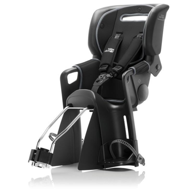Britax Romer Jockey 3 Comfort Fotelik rowerowy dziecięcy na ramę czarny