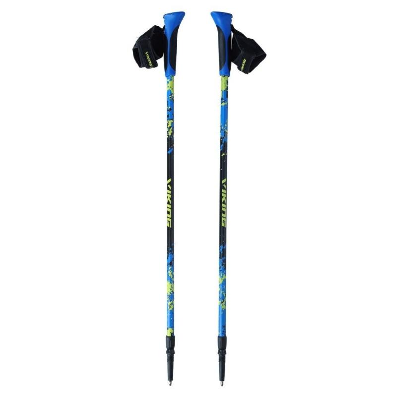 Viking Ruten Pro Kijki nordic walking czarno niebiesko zielone