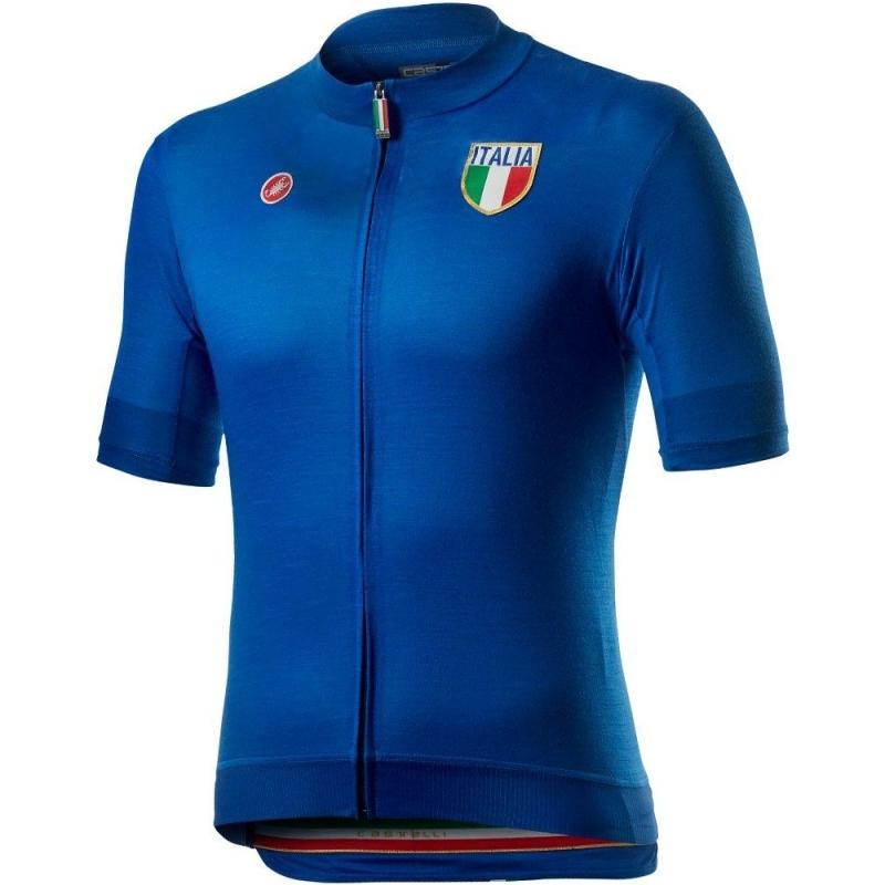 Castelli Italia 20 Koszulka rowerowa azzurro italia