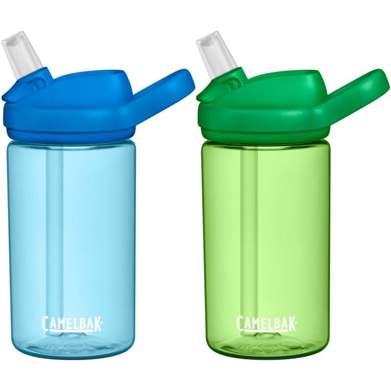 Camelbak Eddy+ Kids Butelka dziecięca dwupak 2 x 400ml niebieska i zielona