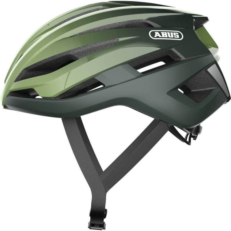 Abus StormChaser Kask rowerowy szosowy Opal green