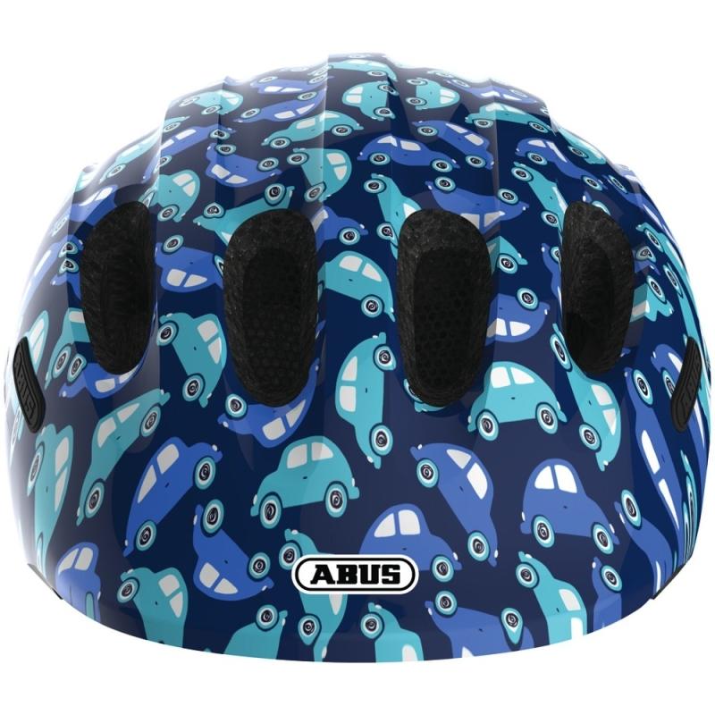 Abus Smiley 2.0 Kask rowerowy dziecięcy blue car