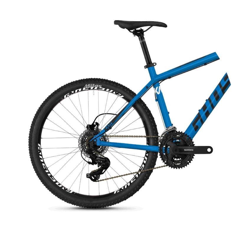 Ghost Kato 1.6 AL U Rower MTB Hardtail 26 Vibrant Blue