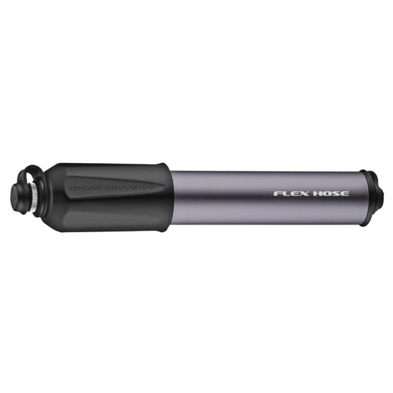 Lezyne Sport Drive HV S Pompka ręczna 90psi grafitowa