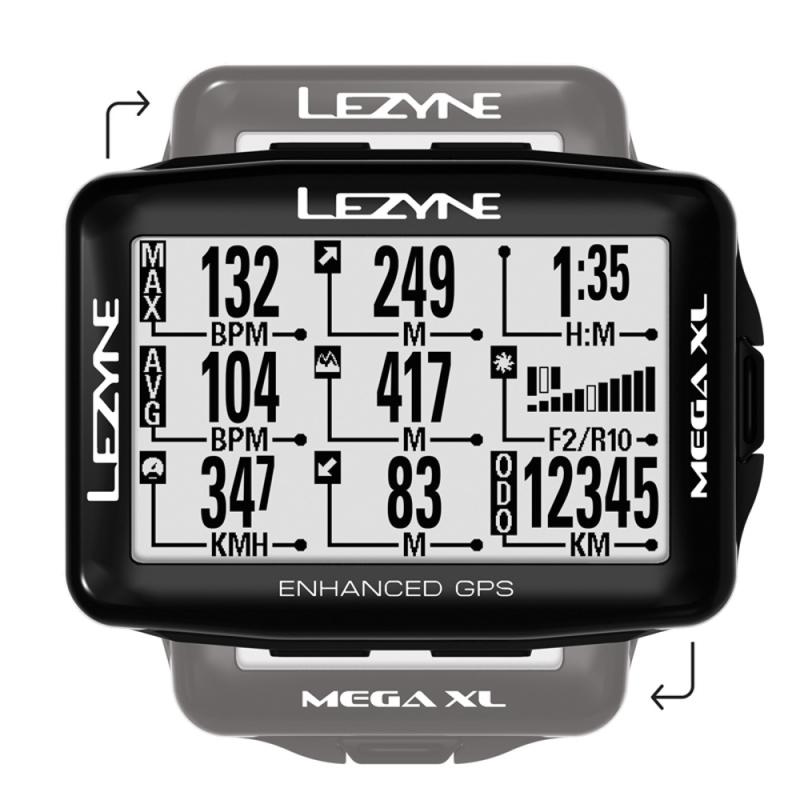Lezyne Mega XL GPS Licznik rowerowy