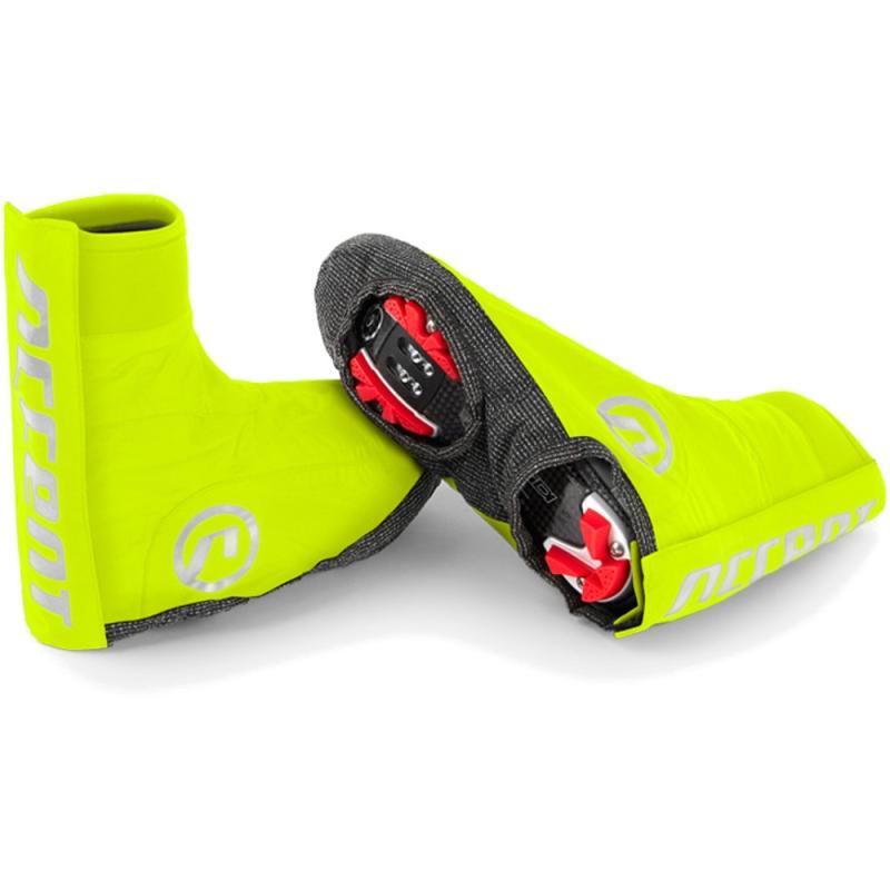 Accent Swamp Pokrowce na buty MTB żółte fluo