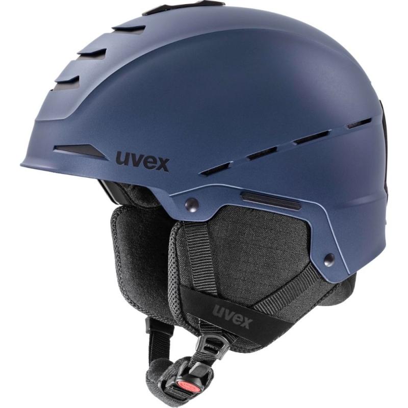 Uvex Legend Kask narciarski snowboard dark ink mat