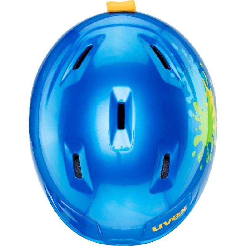Uvex Heyya Dziecięcy kask narciarski snowboard blue splash