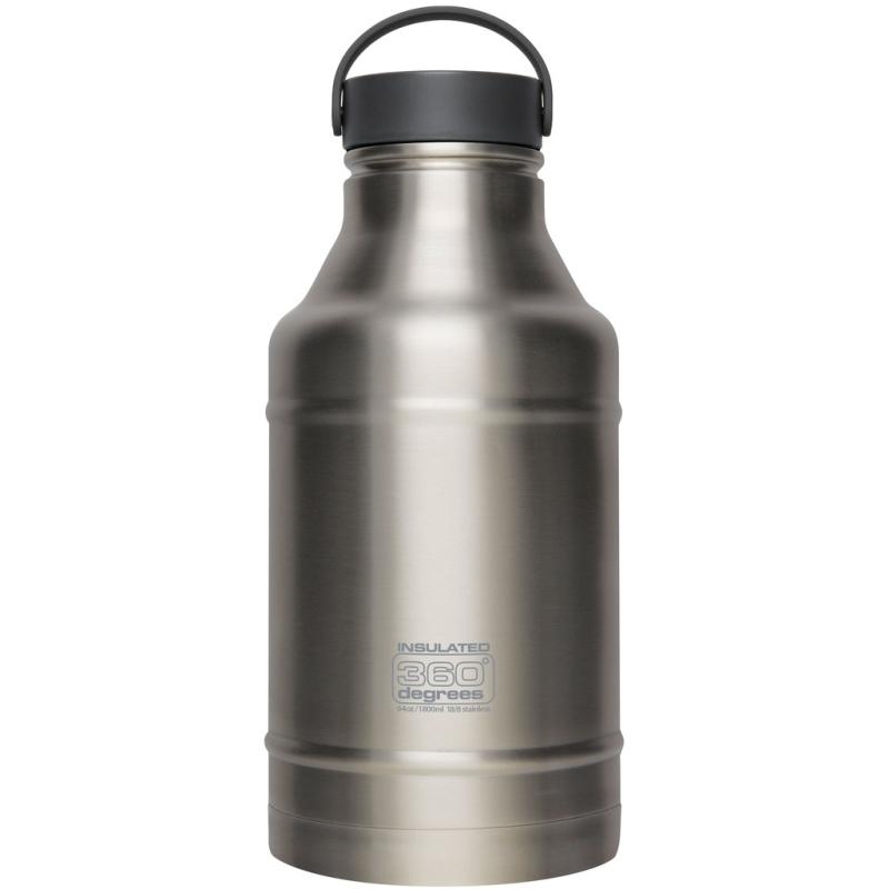 360 Degrees Vacuum Insulated Growler Butelka termiczna srebrna