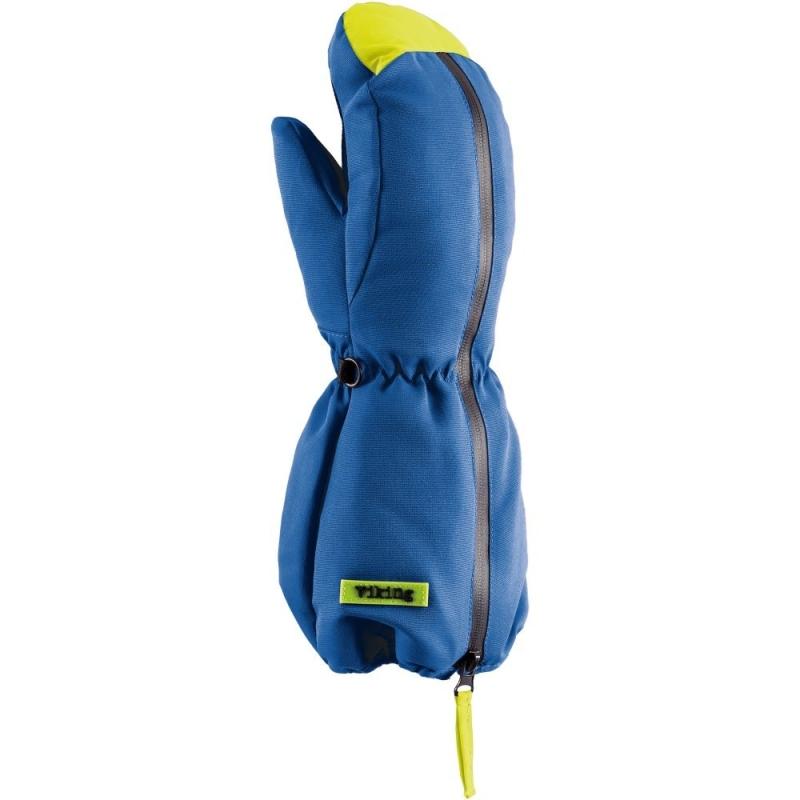 Viking Kids Otzi Rękawice narciarskie dziecięce niebiesko żółte