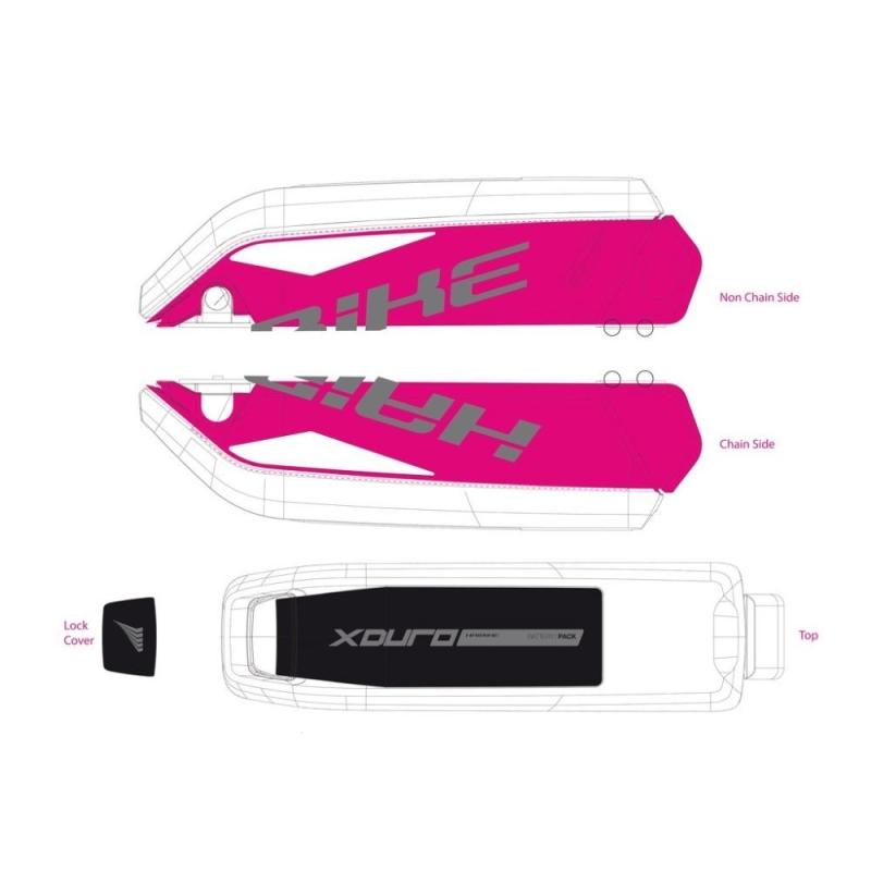 Haibike Naklejki na akumulator Bosch do XDURO Nduro RX