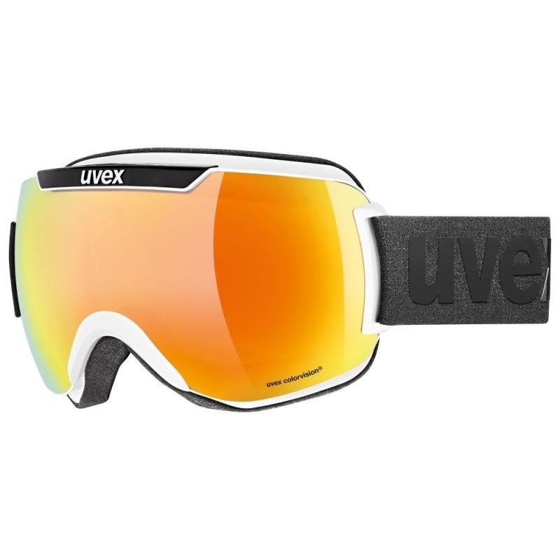 Uvex Downhill 2000 CV Gogle narciarskie colorvision white black mirror orange