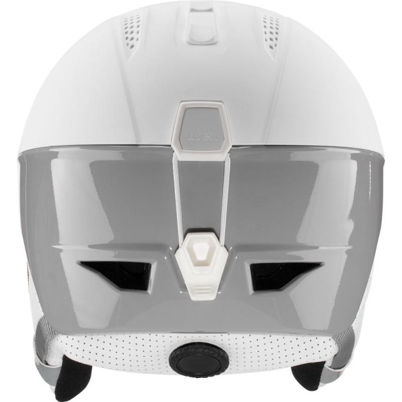 Uvex Ultra Pro Kask narciarski snowboard white grey mat