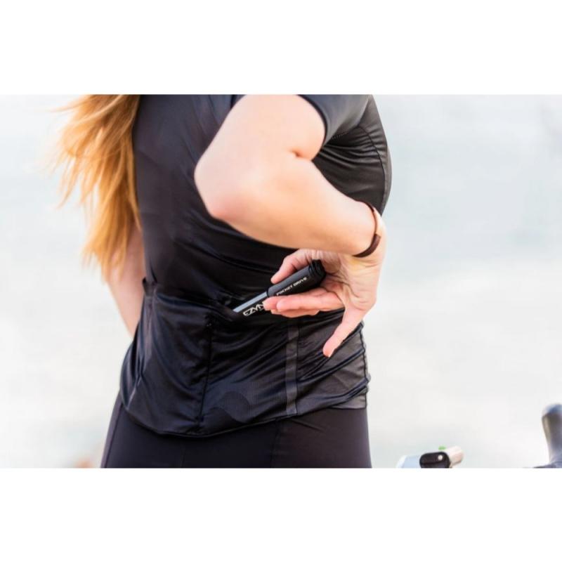 Lezyne Pocket Drive ABS Flex Hose Pompka Czarna