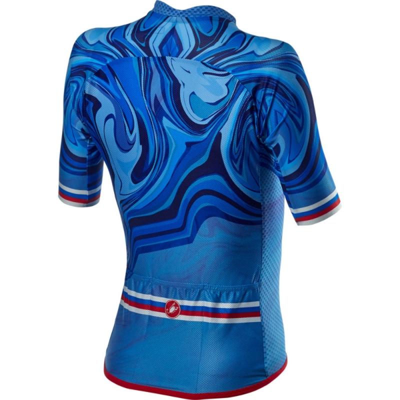 Koszulka Castelli Climber's 2.0 W Niebieska