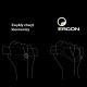 Ergon GS2 Racing Chwyty kierownicy ergonomiczne białe