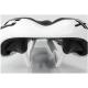 XLC SA S06 Sportline Siodełko ATB/MTB młodzieżowe biało czarne