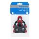 Shimano SM SH10 Bloki do pedałów szosowych SPD SL czerwone