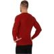 Brubeck 3D Run PRO Koszulka męska z długim rękawem ciemnoczerwona