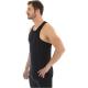 Brubeck podkoszulek męski na ramiączkach czarny