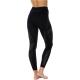 Brubeck Dry Spodnie termoaktywne damskie czarne