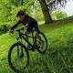 Abus MountZ Kask rowerowy dziecięcy velvet black